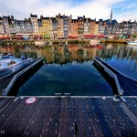 Port Grand Angle, Honfleur, Normandie