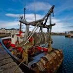 Bateau de pêche, Honfleur, Normandie