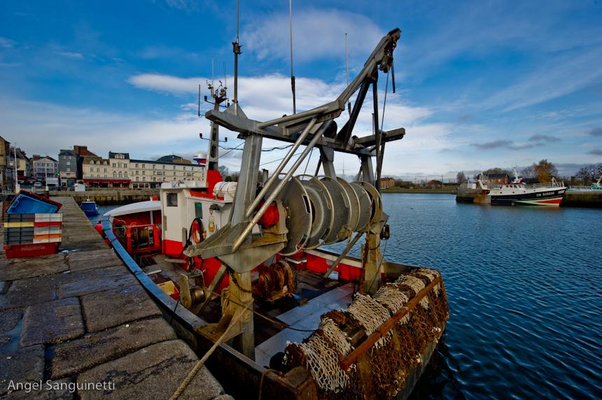 bateau de peche honfleur