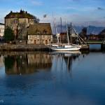 Voilier, Honfleur, Normandie