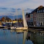 Honfleur, Normandie, le port