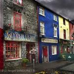 Boutiques colorées, Galway (2009)