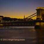 Chain Bridge, Budapest, Hongrie