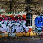 Christiana-graffiti-mur, Copenhague (2010)