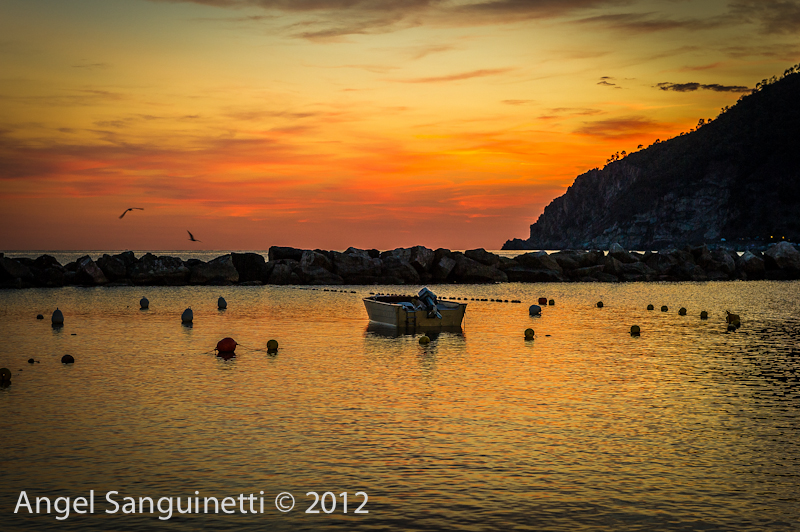 Cinque Terre, Italie, Moneglia