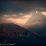 A travers les nuages, Mont Blanc, Mercury (201