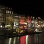 Nu Havn by night, Copenhague, Danemark