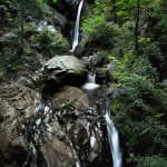 Cascade, Rore Piémont, Italie