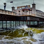 Brighton Pier and Waves, Brighton (2011)