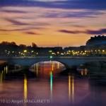 Seine et pont, Paris